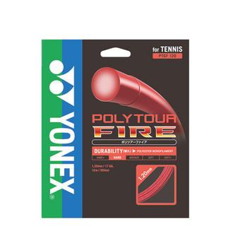 ヨネックス(YONEX)のPOLYTOUR FIRE 125 ロールカット品 残り4張り!!(その他)