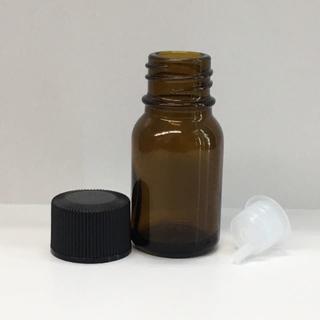 新品 遮光瓶 ドロッパー 容器 10ml 黒CAP アロマ 詰替 (アロマグッズ)