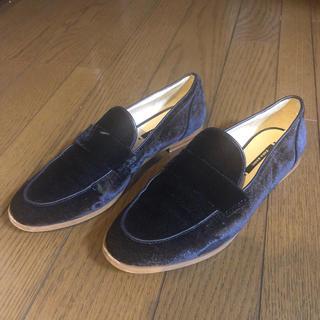 ザラ(ZARA)のZARA フラットシューズ(ローファー/革靴)