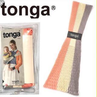 エルゴベビー(Ergobaby)のtonga トンガ・フィット 抱っこひも ブロッサムストライプ (抱っこひも/おんぶひも)