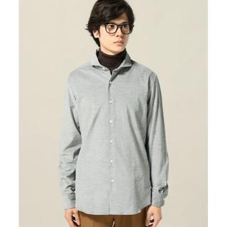 エディフィス(EDIFICE)のEDIFICE コーデュロイカッタウェイシャツ 新品 タグ付き 日本製(シャツ)