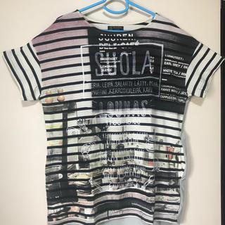 リベットアンドサージ(rivet & surge)のバック切替Tシャツ(Tシャツ(半袖/袖なし))