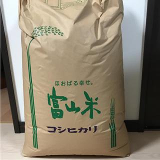 noko0614様専用 29年度 富山米 コシヒカリ 30キロ(米/穀物)