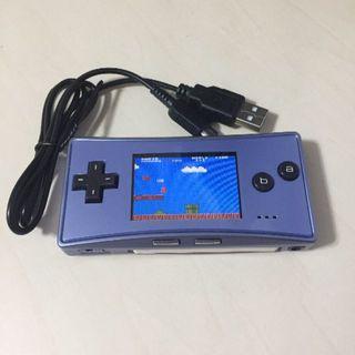 ゲームボーイアドバンス(ゲームボーイアドバンス)の【中古・送料込・USB充電ケーブル】ゲームボーイミクロ(ブルー)任天堂 (携帯用ゲーム機本体)