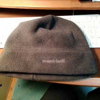 モンベル(mont bell)のモンベルフリース帽子 Lサイズ メンズ(ニット帽/ビーニー)
