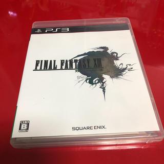 プレイステーション3(PlayStation3)のps3 ファイナルファンタジーXIII(家庭用ゲームソフト)