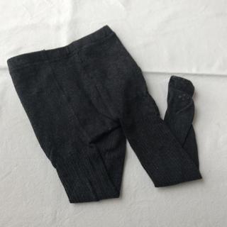 ムジルシリョウヒン(MUJI (無印良品))のリブニットタイツ 80-90(靴下/タイツ)