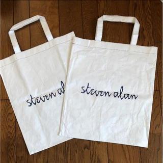 スティーブンアラン(steven alan)のsteven alan ショッパー 2枚(ショップ袋)