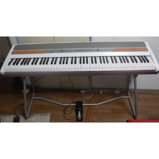 コルグ(KORG)のKORG/コルグ sp-250 電子ピアノ 88鍵 2007年製 ホワイト(電子ピアノ)
