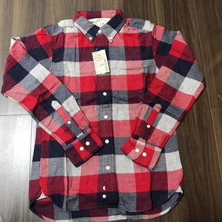 MUJI (無印良品) - 新品タグ付き!オーガニックコットンシャツ