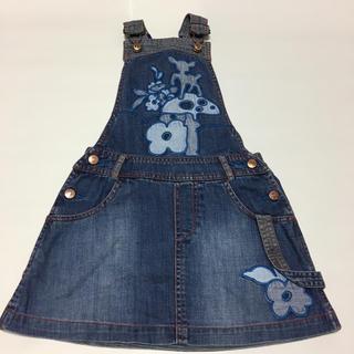 オイリリー(OILILY)のoillyジャンパースカート(ワンピース)