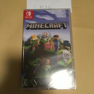 ニンテンドースイッチ(Nintendo Switch)のMinecraft Nintendo Switch版 新品未開封  M24(家庭用ゲームソフト)