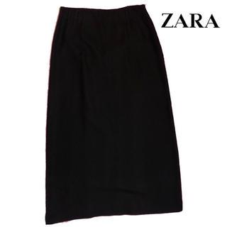 ザラ(ZARA)のZARA ウール ロングスカート(ロングスカート)
