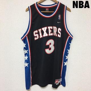 ナイキ(NIKE)の3840 NBA SIXERS アイバーソン ユニフォーム ゲームシャツ(タンクトップ)