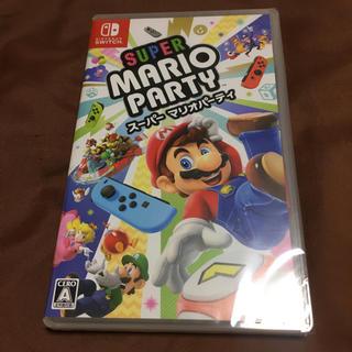 ニンテンドースイッチ(Nintendo Switch)の新品未開封 2点セット スーパー マリオパーティ+ マリオカート8 デラックス(家庭用ゲームソフト)