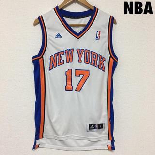アディダス(adidas)の3868 NBA KNICKS ニックス ユニフォーム ゲームシャツ(タンクトップ)