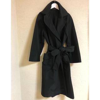 ジュンコシマダ(JUNKO SHIMADA)のウエストリボン コート(トレンチコート)
