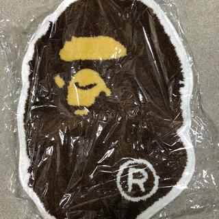 アベイシングエイプ(A BATHING APE)の新品 ape ラグマット  A BATHING APE HEAD RUG MAT(玄関マット)