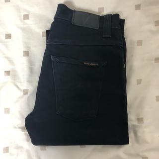 ヌーディジーンズ(Nudie Jeans)の【ヌーディージーンズ】 グリムティム ブラック(デニム/ジーンズ)