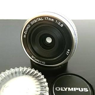 オリンパス(OLYMPUS)のOLYMPUS オリンパス PEN 単焦点 17mm PL(レンズ(単焦点))