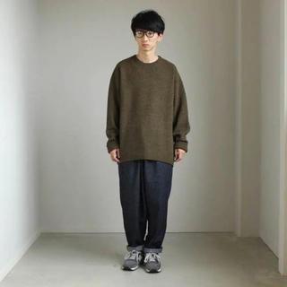 アンユーズド(UNUSED)のcrepuscule moss stitch knit(ニット/セーター)