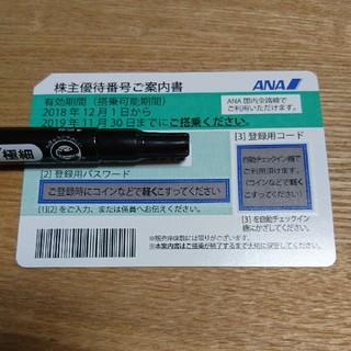 エーエヌエー(ゼンニッポンクウユ)(ANA(全日本空輸))のANA株主優待券 7枚(航空券)