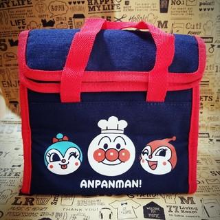 アンパンマン(アンパンマン)の3 . アンパンマン♡お弁当袋♡おしぼりセット(ランチボックス巾着)