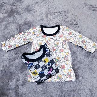 シマムラ(しまむら)の新品、未使用品。 80ー90カットソー (Tシャツ/カットソー)