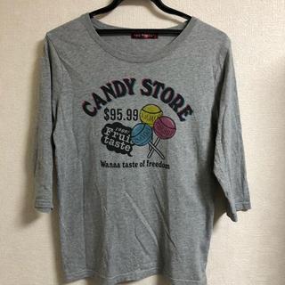 ハンジロー(HANJIRO)のハンジロー 七分袖 キャンディプリント Tシャツ(Tシャツ/カットソー(七分/長袖))