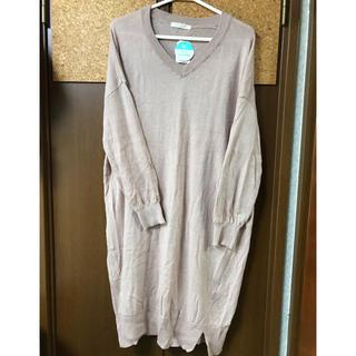 ショコラフィネローブ(chocol raffine robe)の新品☆ chocol raffine robeニットワンピ♪(ひざ丈ワンピース)