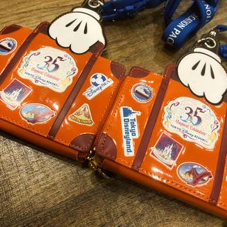 ディズニー(Disney)のディズニー35周年 バケパ パスケース (その他)