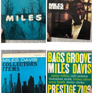 miles davis  4点   レコード  ジャズレコード(ジャズ)