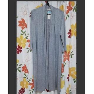 ショコラフィネローブ(chocol raffine robe)の【未使用タグ付】chocol raffine robe  ロングカーディガン(カーディガン)