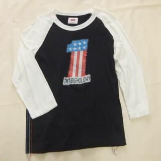 ティーエムティー(TMT)のTMT ラグランカットソー L 福岡店限定(Tシャツ/カットソー(半袖/袖なし))