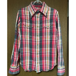 ティーエムティー(TMT)のTMT 厚手 ウェスタンシャツ 購入時のタグ付き(シャツ)
