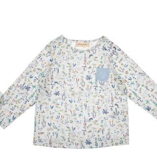 センスオブワンダー(sense of wonder)の新品 センスオブワンダー リバティ柄 長袖Tシャツ ロンT(Tシャツ)