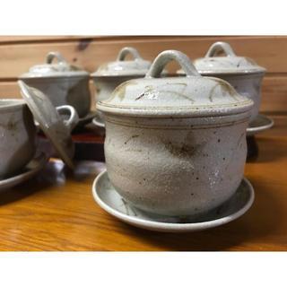 タチキチ(たち吉)のたち吉 鉄絵 むし茶碗 受皿付 5客(食器)
