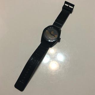 アディダス(adidas)のアディダス腕時計 黒×ゴールド(腕時計)