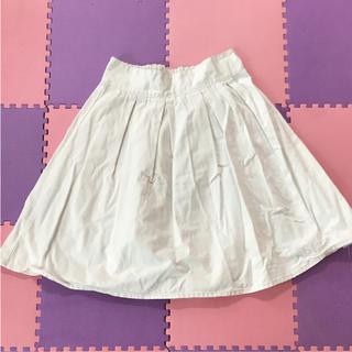 ジーユー(GU)のデニムスカート (ひざ丈スカート)