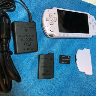プレイステーションポータブル(PlayStation Portable)のPSP-2000 美品 完動品!早い者勝ち(携帯用ゲーム本体)