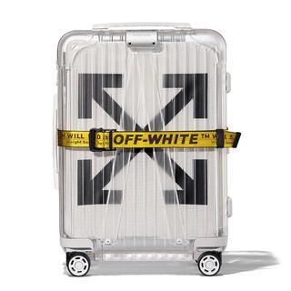 オフホワイト(OFF-WHITE)のRIMOWA off-white スーツケース リモワ off-white(トラベルバッグ/スーツケース)