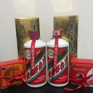 貴州茅台酒、マオタイ酒、中国酒 2本セット(蒸留酒/スピリッツ)