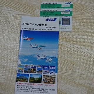 エーエヌエー(ゼンニッポンクウユ)(ANA(全日本空輸))のANA  株主優待券2枚セット  全日空(その他)