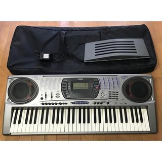 カシオ(CASIO)のCASIO カシオ キーボード CTK-671 Roland ケース付き(キーボード/シンセサイザー)