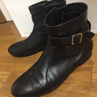 ドアーズ(DOORS / URBAN RESEARCH)のアーバンリサーチ ブラックショートブーツ(ブーツ)