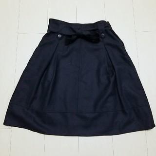 エマジェイム(EMMAJAMES)のEMMA JAMES  リボン付きスカート(膝丈)(ひざ丈スカート)