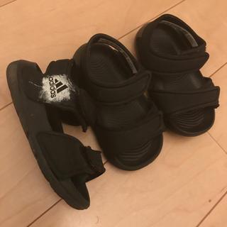 アディダス(adidas)の12cm adidas サンダル(サンダル)