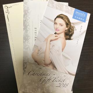 即購入OK たかの友梨 クリスマスチケット 2万2000円相当(その他)