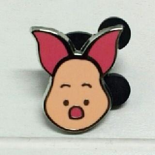 クマノプーサン(くまのプーさん)の海外 ディズニーピン ピグレット くまのプーさん Winnie the Pooh(バッジ/ピンバッジ)