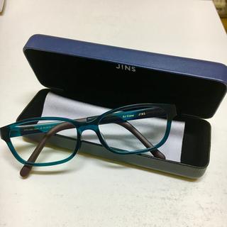 ジンズ(JINS)のJINS ブルーライトカット メガネ 度なし(サングラス/メガネ)
